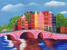 Schilderij Diny Heins